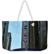 Radio City Music Hall Weekender Tote Bag by Paul Ward
