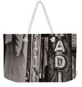 Radio Nashville - Monochrome Weekender Tote Bag