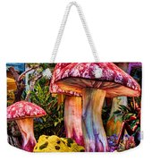 Radioactive Mushrooms Weekender Tote Bag