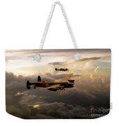 Raf Lancaster And Spitfire Weekender Tote Bag