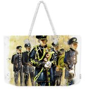 Raf Military Parade In York Weekender Tote Bag
