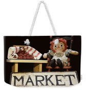 Raggedy Ann Selling Raspberries Weekender Tote Bag