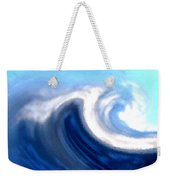 Raging Sea Weekender Tote Bag