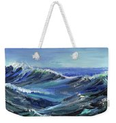 Raging Seas Weekender Tote Bag