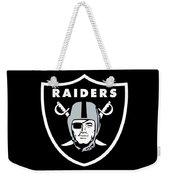 Raiders  Weekender Tote Bag