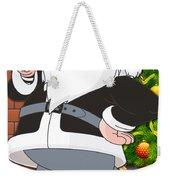 Raiders Santa Claus Weekender Tote Bag