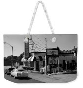 Raifords Disco Memphis B Bw Weekender Tote Bag