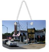 Raifords Disco Memphis B Weekender Tote Bag by Mark Czerniec