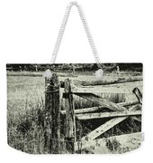 Rail Fence Weekender Tote Bag