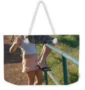 Rail Surfing Weekender Tote Bag