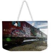 Railcar Graffiti Weekender Tote Bag