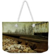 Railroad Bolts Weekender Tote Bag