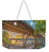 Railroad Bridge12 Weekender Tote Bag