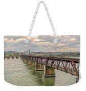 Railroad Bridge3 Weekender Tote Bag