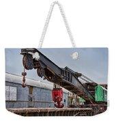Railroad Crane Weekender Tote Bag