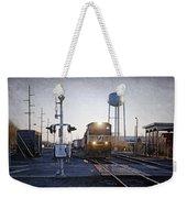 Railroad Crossing Weekender Tote Bag