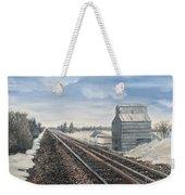 Railroad Going North  Weekender Tote Bag