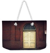 Railroad Museum Door Weekender Tote Bag