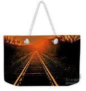 Railroad  Surreal Perspective IIi Weekender Tote Bag