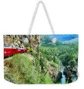 Rails Above The River Weekender Tote Bag