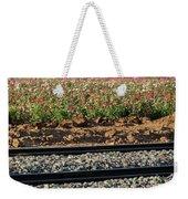 Rails And Roses Weekender Tote Bag