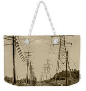 Rails And Wires Weekender Tote Bag