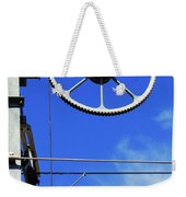 Railway Catenary Weekender Tote Bag