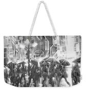 Rain And Wet. Weekender Tote Bag