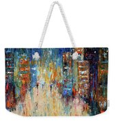 Rain Dance Blues Weekender Tote Bag