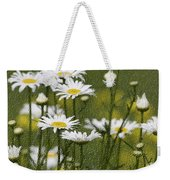 Rain Drops On Daisies Weekender Tote Bag