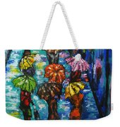 Rain Fantasy Acrylic Painting  Weekender Tote Bag