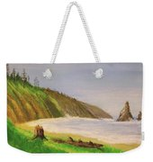 Rain Forest Meets The Sea Weekender Tote Bag