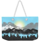 Rain On A Sunny Day Weekender Tote Bag