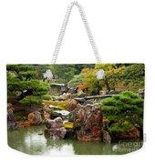 Rain On Kyoto Garden Weekender Tote Bag