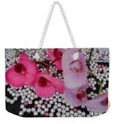 Rain On Orchids Weekender Tote Bag
