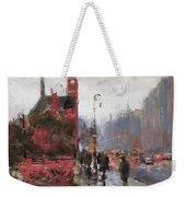 Rain On Sixth Avenue Weekender Tote Bag