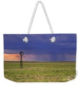 Rain On The Plains Weekender Tote Bag