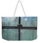 Rain On The Window Weekender Tote Bag