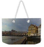 Rain Over Prague Weekender Tote Bag