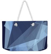 Rain Polygon Pattern Weekender Tote Bag