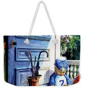Rain Rain Go Away Weekender Tote Bag