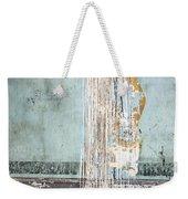 Rain Ruined Wall Weekender Tote Bag