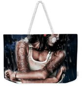 Rain When I Die Weekender Tote Bag by Pete Tapang