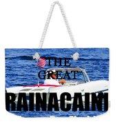 Rainacaine Tampa Bay 2015 Weekender Tote Bag