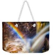 Rainbow And Falls Weekender Tote Bag