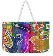Rainbow Animals Yoga Mat Weekender Tote Bag