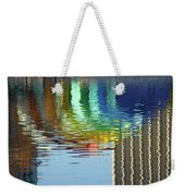 Rainbow Bandshell Reflection Weekender Tote Bag