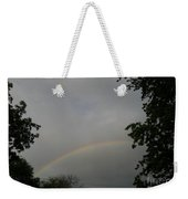 Rainbow Between The Trees Weekender Tote Bag