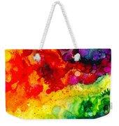 Rainbow Bubbles Weekender Tote Bag