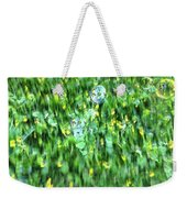 Rainbow Bubbles On The Grass Weekender Tote Bag